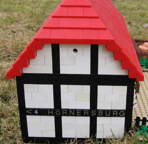 Lego Farm House And Lego Barn